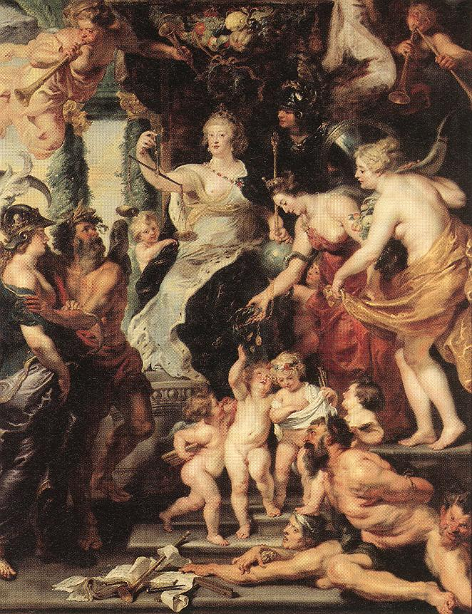 Peter-Paul-Rubens-xx-The Happiness of the Regency 1623-25-xx-Louvre