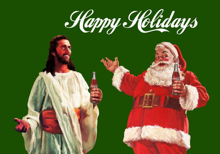 a wonderful christmas time - Santa With Jesus