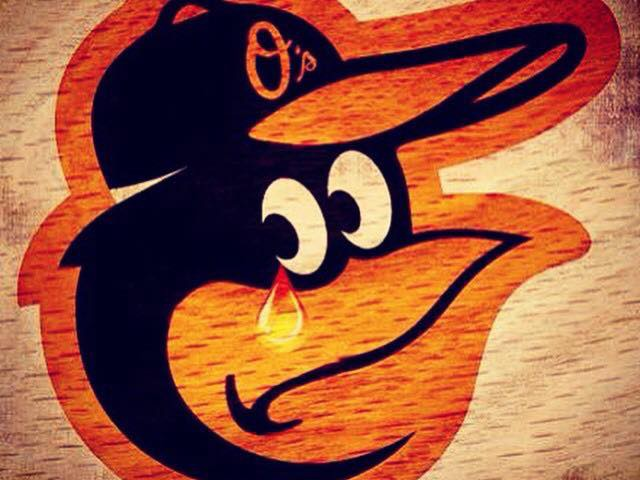 oriole crying